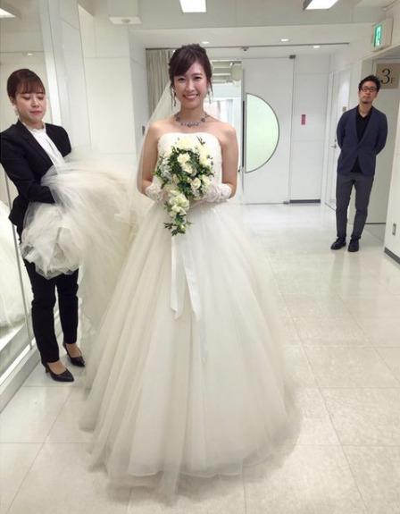 玉巻映美 結婚