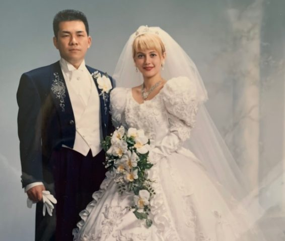 村重ヤナさん結婚式