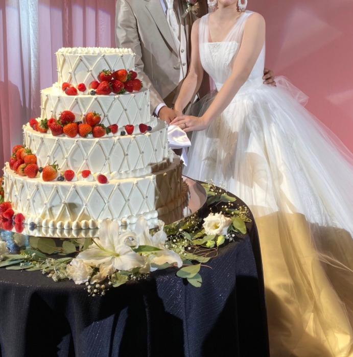 ドーキンズ英里奈 結婚披露宴