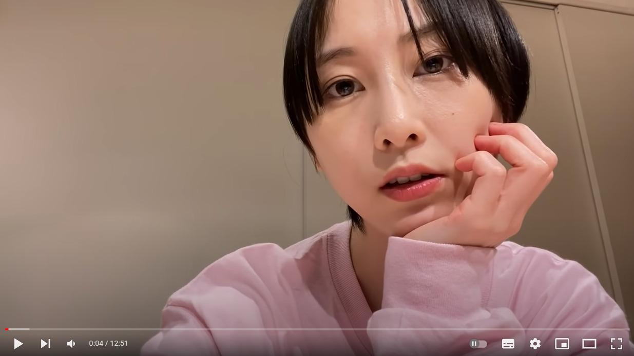 松井玲奈 YouTubeチャンネル 動画