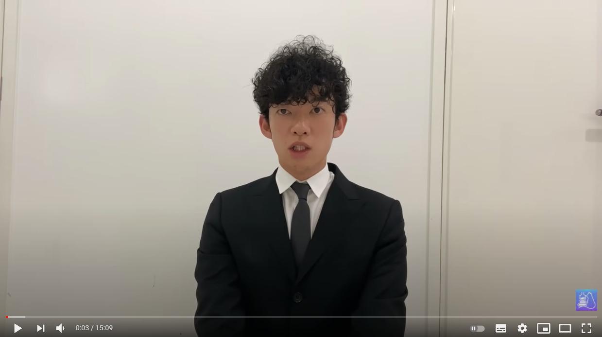 メンタリストDaiGo YouTubeチャンネル 謝罪動画
