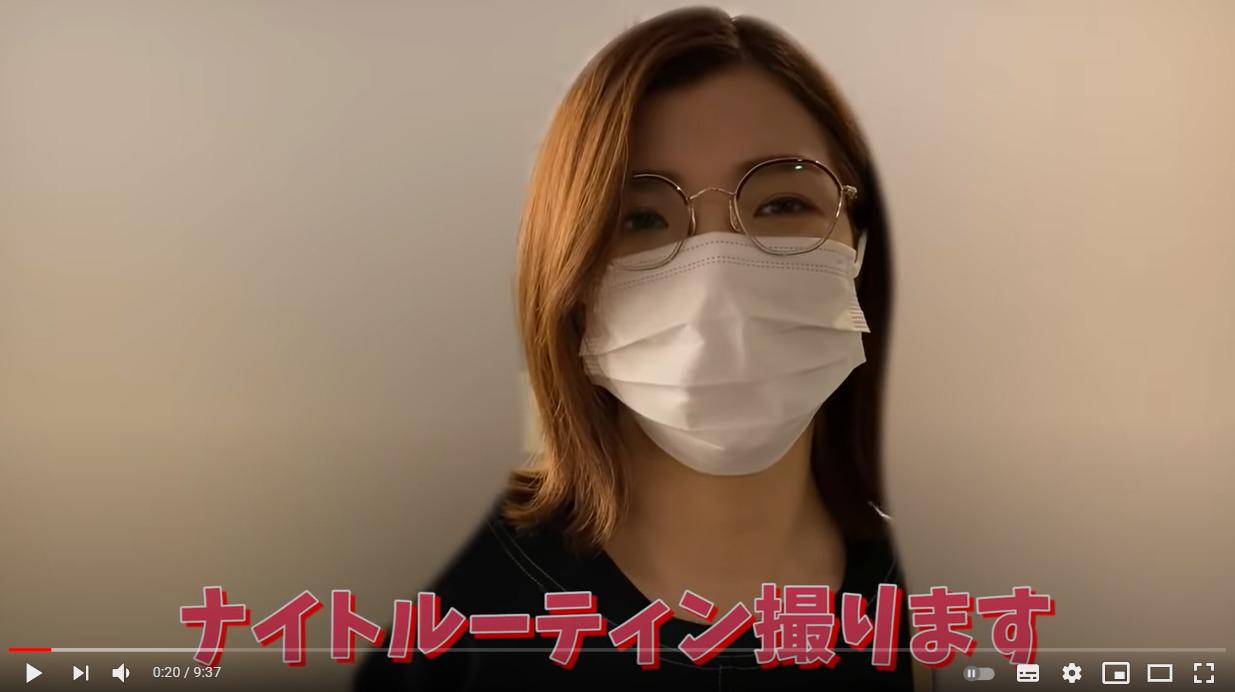 3時のヒロイン 福田麻貴 ナイトルーティーン 動画