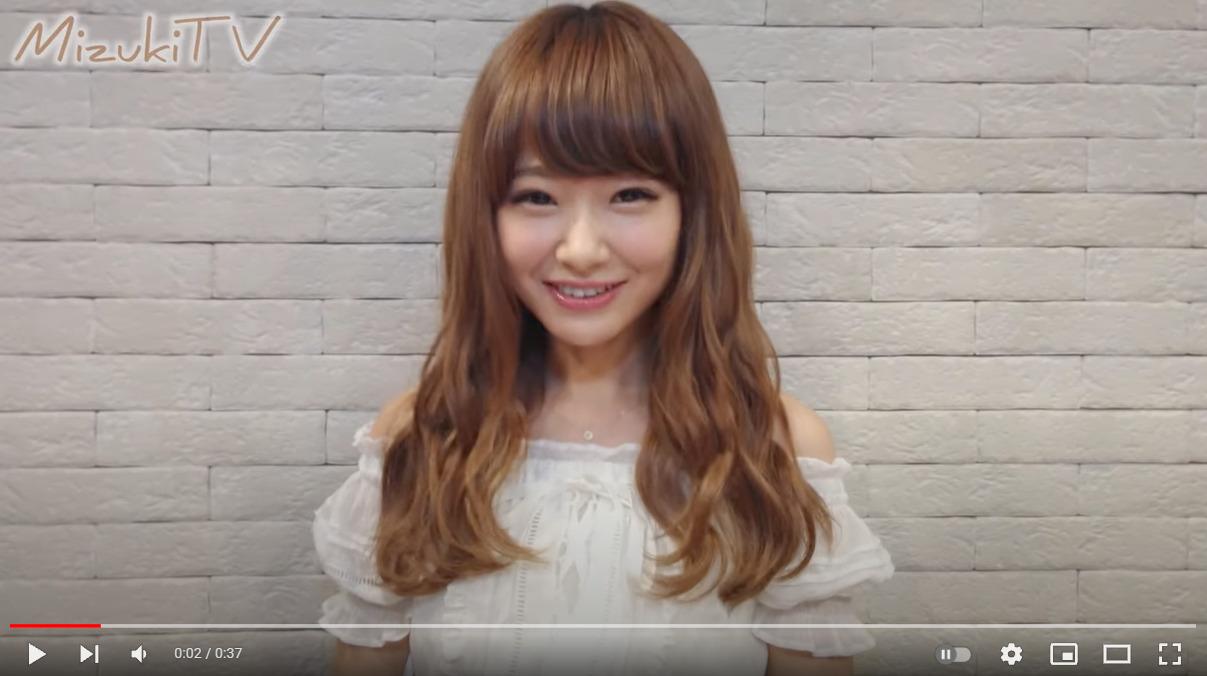 西川 瑞希のYouTubeチャンネル初動画